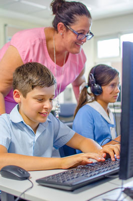 use of ict in primary school classrooms Classroom 2000 (c2k) the c2k project was established to procure the infrastructure and services necessary to support the enhanced use of information and communication technology (ict) in schools in northern ireland.